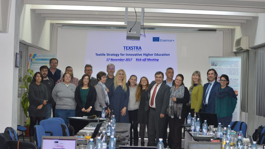 THE NEW TEXTILE PROJECT TO CONTRIBUTE ON THE KNOWLEDGE TRANSFER IN THE TEXTILE SECTOR