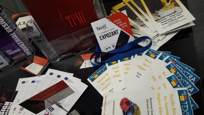 TEXSTRA presented at the Textile Technology Show in Bucharest, Romania