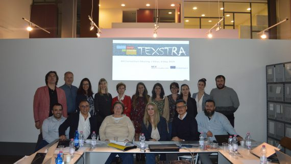 TEXSTRA HOLDS ITS FOURTH PROJECT MEETING IN MILAN