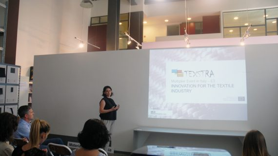 Material ConneXion Italia organized the 3rd TEXSTRA multiplier event