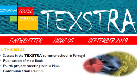 5th TEXSTRA newsletter released