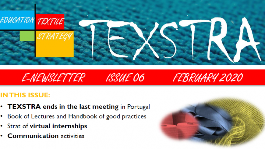 6th TEXSTRA newsletter released!