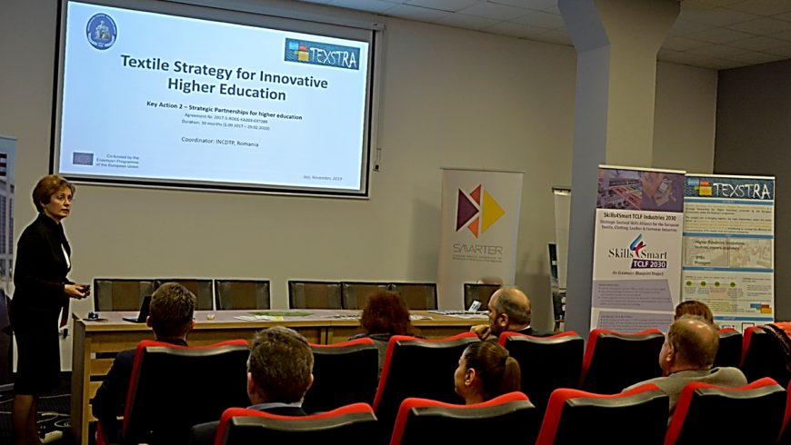 TUIASI organized a TEXSTRA multiplier event in Romania
